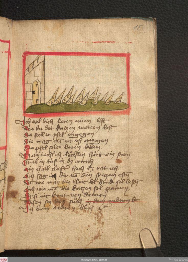 Feuerwerkbuch 1420s