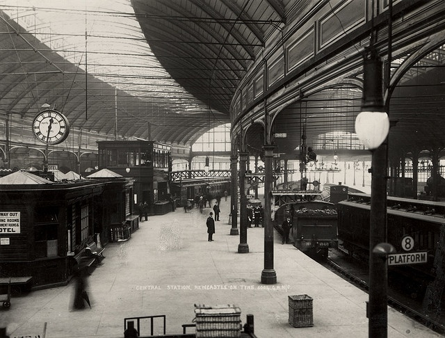 Central Station Newcastle upon Tyne C.1900