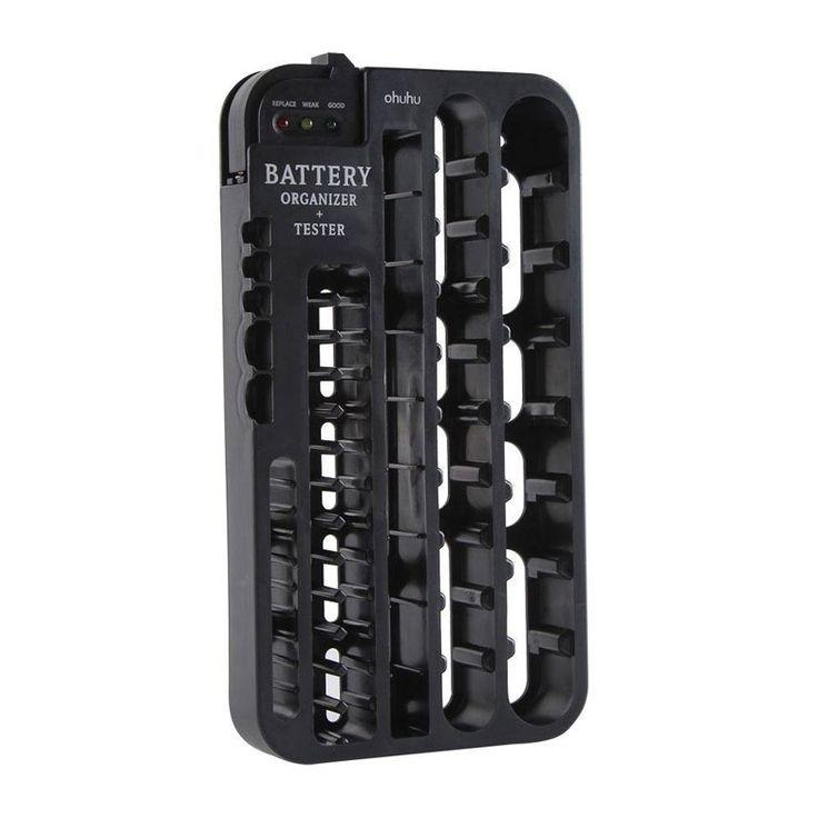 Ohuhu Battery Organizer and Tester