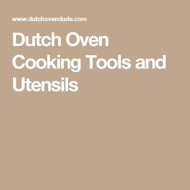 Dutch Oven Cooking Tools  Dutch Oven Dude