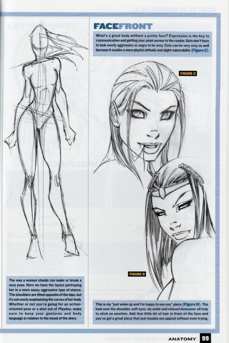 How to Draw Female Comic Book Characters According to Wizard (Every Wizard female looks like Witchblade to me, occasionally with a different shade of hair color, but there isn't a lot of variety)