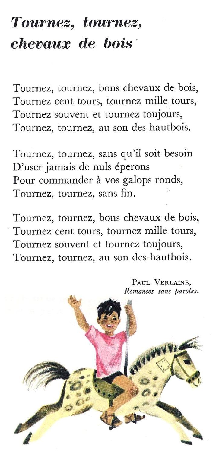 Tournez, tournez, chevaux de bois (Paul Verlaine)