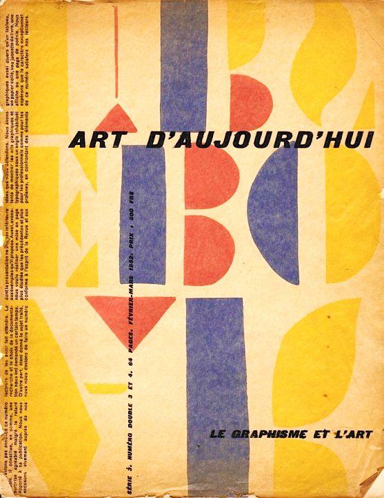 ART D'AUJOURD HUI (1949-1955).
