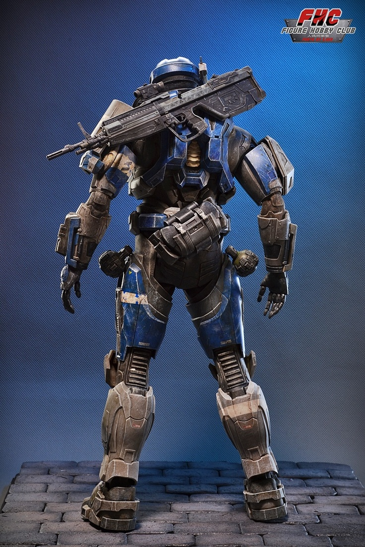 This Is The Worlds Most Fabulous Halo Action Figure