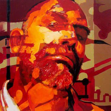 """Saatchi Art Artist Corne Eksteen; Painting, """"The Emancipator"""" #art"""