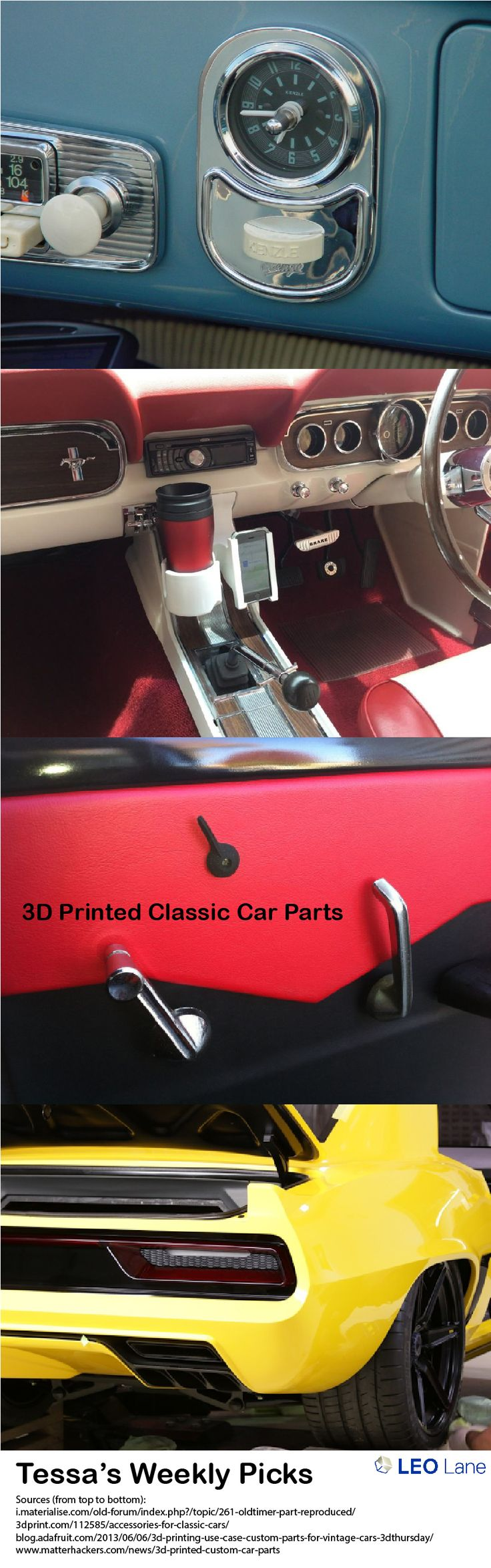 Tessa\'s Weekly Picks – 3D Printed Classic Car Parts | 3d and Cars