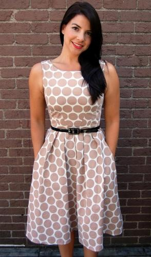 Dress from Project Runway pattern - simplicity 2444