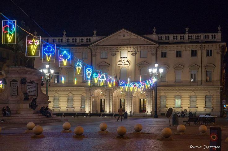 Piazza Bodoni, Luci d'Artista 2013 #Torino #lucidartista