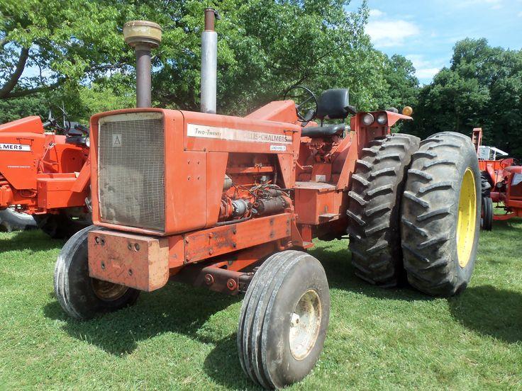 Allis Chalmers B Fuel Tank : Allis chalmers two twenty landhandler tractor hp