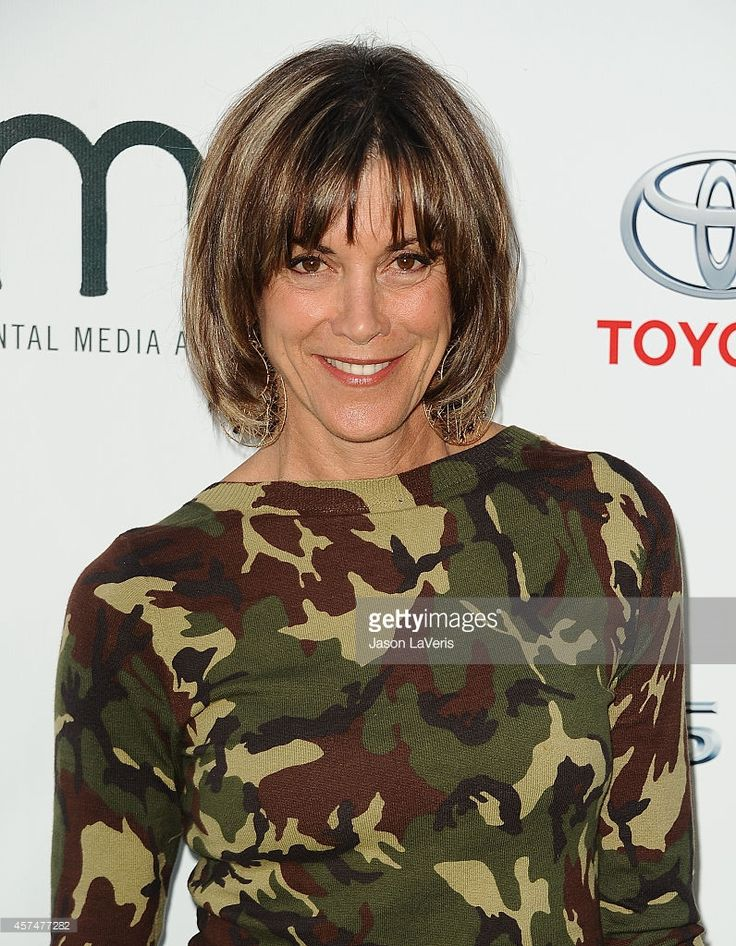 Actress Wendie Malick attends the 2014 Environmental Media Awards at Warner Bros. Description from gettyimages.com. I searched for this on bing.com/images