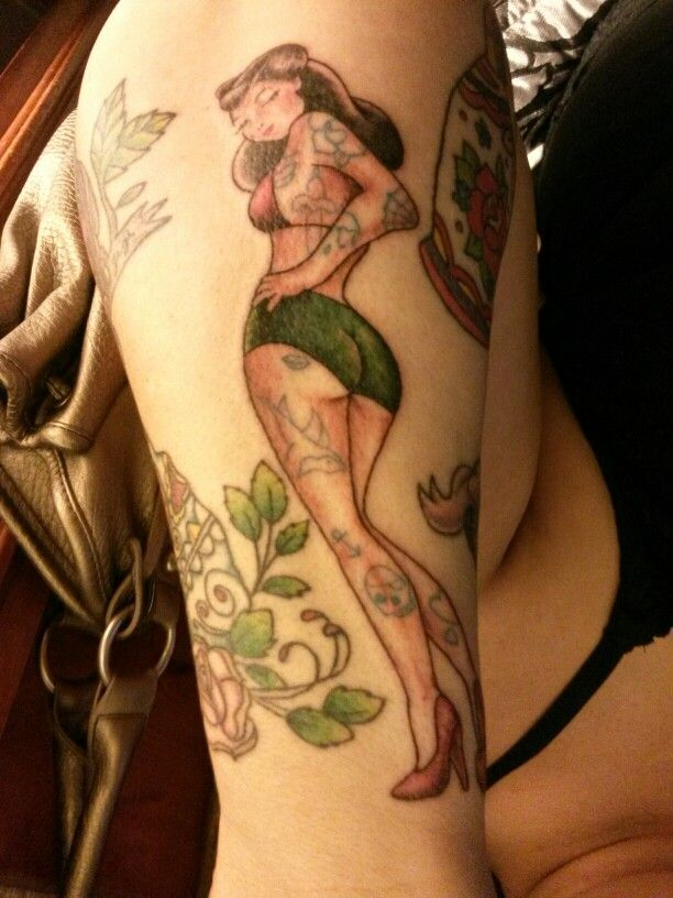 Tattooed Pin up Girl