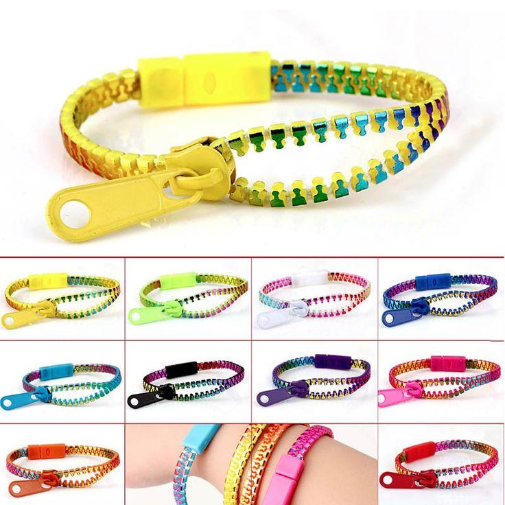 New at Lazaara the 5 Pcs Mix-color Fluorescent Metal Zipper Bracelets for only  1,86 €  you safe  65%.  Mix-color Fluorescent Zipper Bracelets Rainbow Metal Zipper Bracelet   Fluorescent Creative Fashion Design Zip Bracelet https://www.lazaara.com/en/jewelry/13879-5-pcs-mix-color-fluorescent-metal-zipper-bracelets.html  #Lazaara #Amazing #Shopping #AmazingShopping #LazaaraAmazingShopping