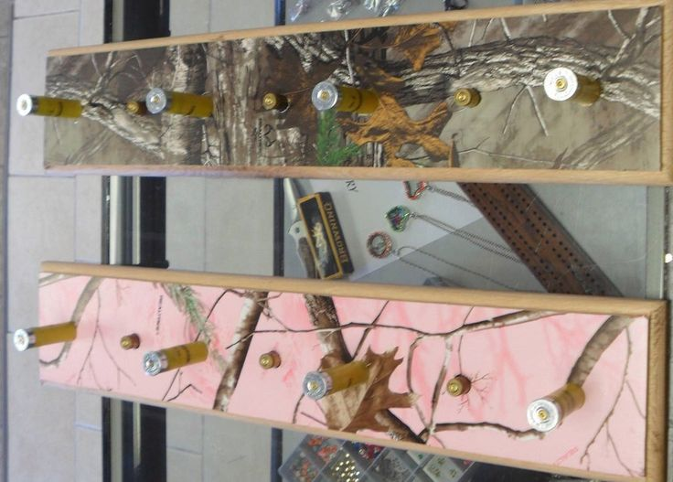 Realtree Camo Shotgun Shell Towel Rack  Hat Rack Coat Rack Camo Wall Decor You Pick The Camo by CountryCraftsNBling on Etsy https://www.etsy.com/listing/208756336/realtree-camo-shotgun-shell-towel-rack