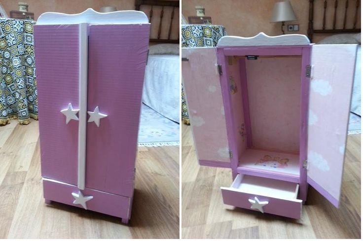 Cómo construir un armario para las muñecas
