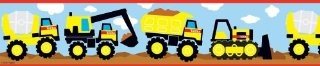 """Brewster PS96302 Tonka Trucks Wall Border"" http://localareaads.co.uk/brewster-ps96302-tonka-trucks-wall-border/"