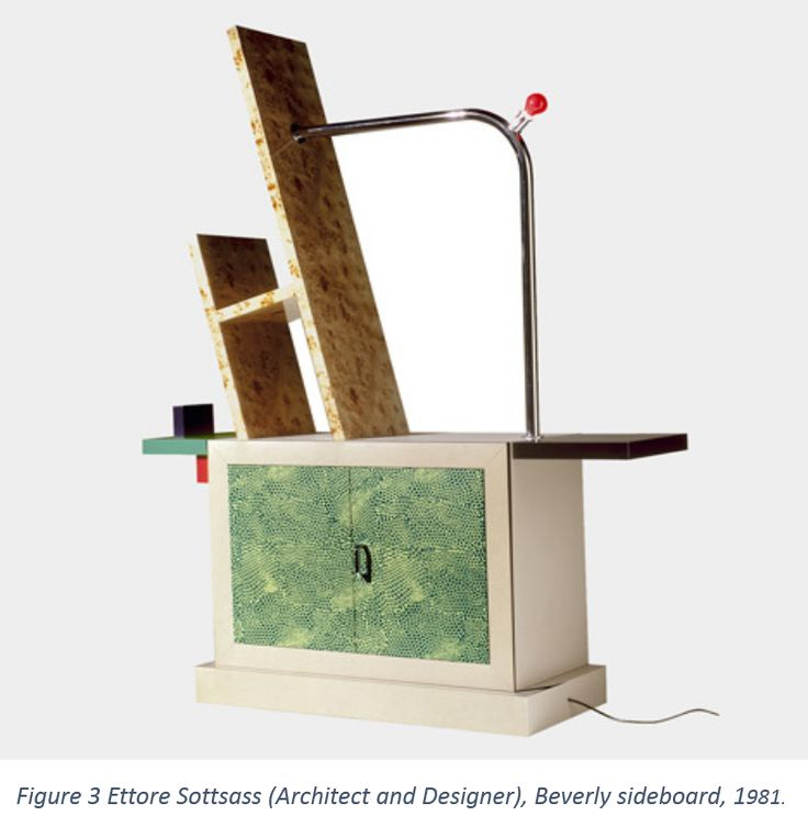 Figure 3 Ettore Sottsass (Architect and Designer), Beverly sideboard, 1981.