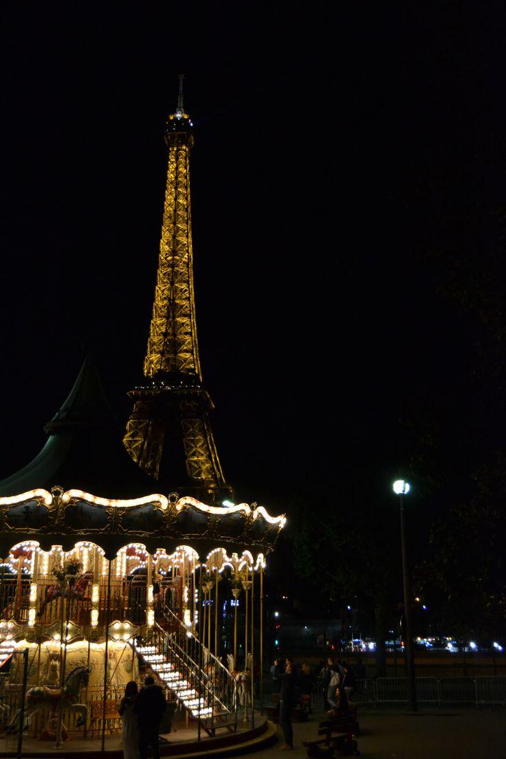 Tour Eiffel - giostra