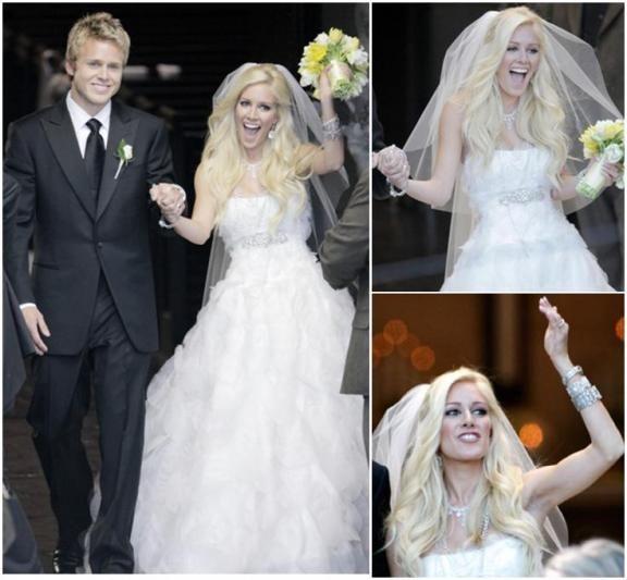 heidi montag wedding dress - love the dress and jewelry.  Gorgeous.