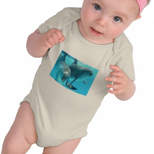 Save The Dolphins Infant Organic Creeper from #Zazzle $35.95