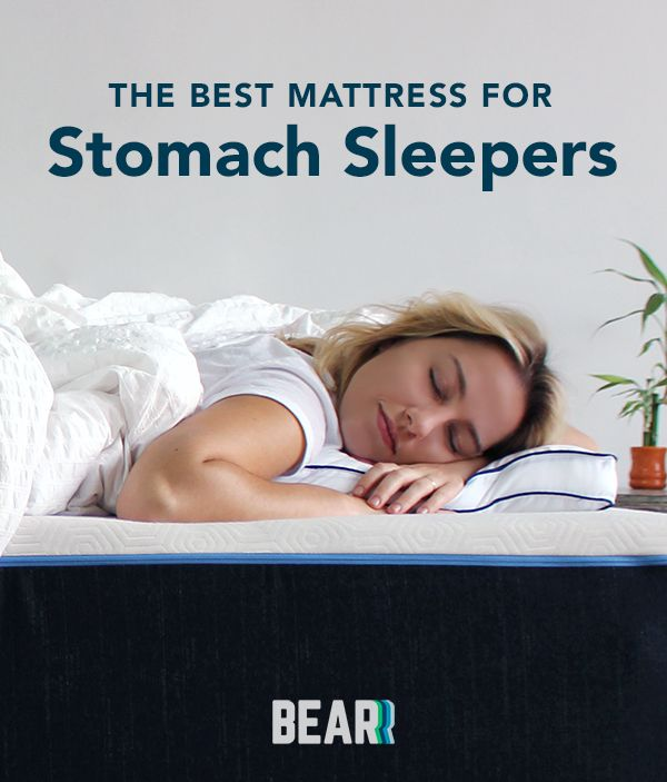 The Best Mattress For You According To Your Sleep Position In 2020 Stomach Sleeper Sleeping Positions Stomach