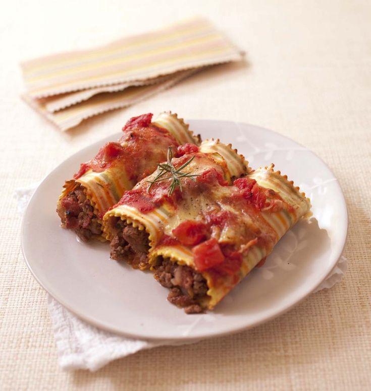 Cannellonis au boeuf et courgette - Recettes de cuisine Ôdélices