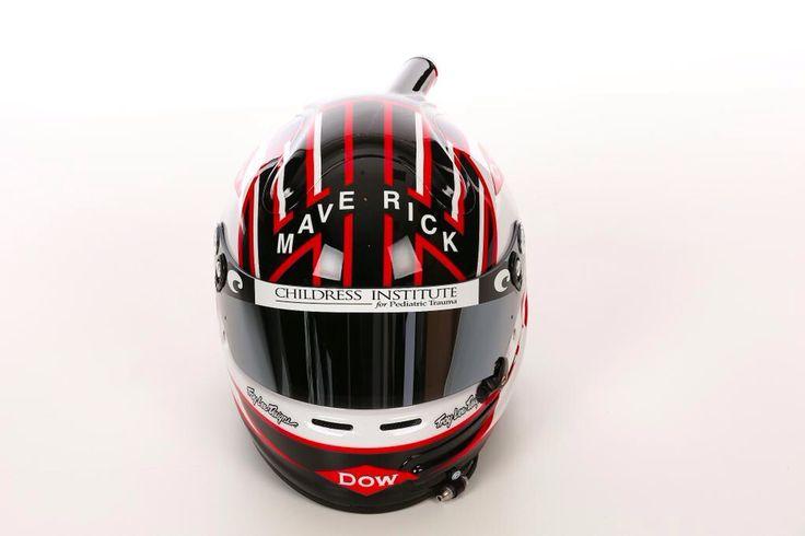 Austin Dillon NASCAR Sprint Cup helmet 2015
