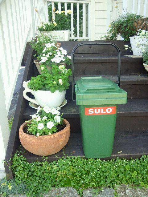 家庭用分別ゴミ箱' 施工事例、施工写真の新着記事 SULO バケツ型ダストボックス 25L グリーン MB25-GNの写真<藤沢市S様