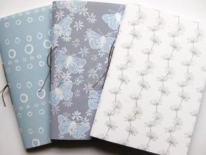 Handmade Notebooks by Chalkhill Studion #handmade #notebooks #stationery
