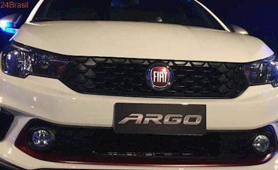 """Planos audaciosos para novo hatch: Fiat promete: """"Argo desbanca Onix e HB20 e será líder ainda este ano"""""""