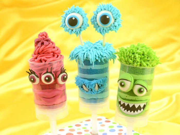 Monster Push-up Cake-Pops Mehr
