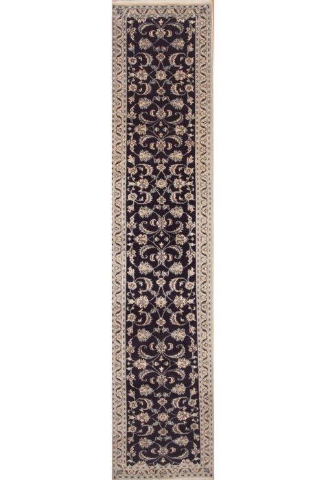 Naeen Persian rug. Wool. Hand Knotted. 84 x 386 http://www.rugman.com/persian-naeen-design-oriental-area-rug-runner-wool-white-runner-100-11573