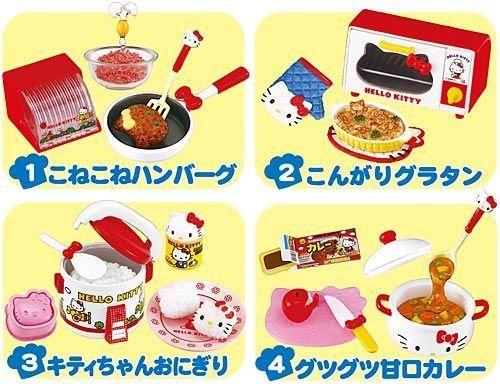 caja sorpresa me encanta cocinar hello kitty rement amazones juguetes