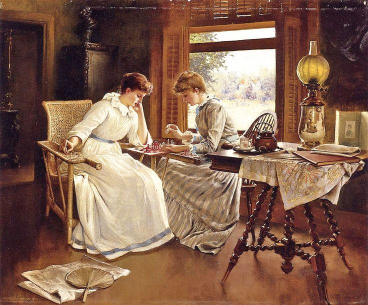 19C American Women: 1800s American Families