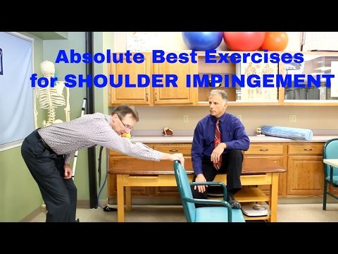 Absolute Best Shoulder Impingement Exercises (Self-Treatments) - YouTube