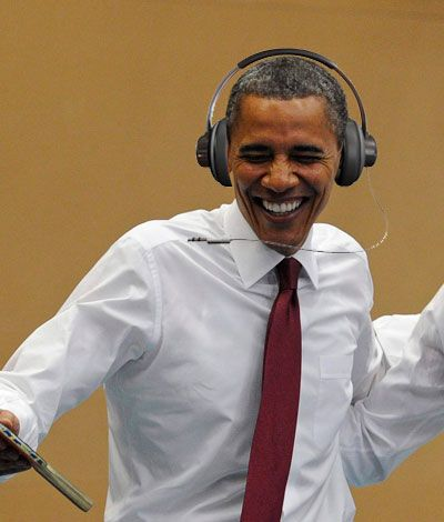 President Barack Obama Now Has A Playlist On Spotify