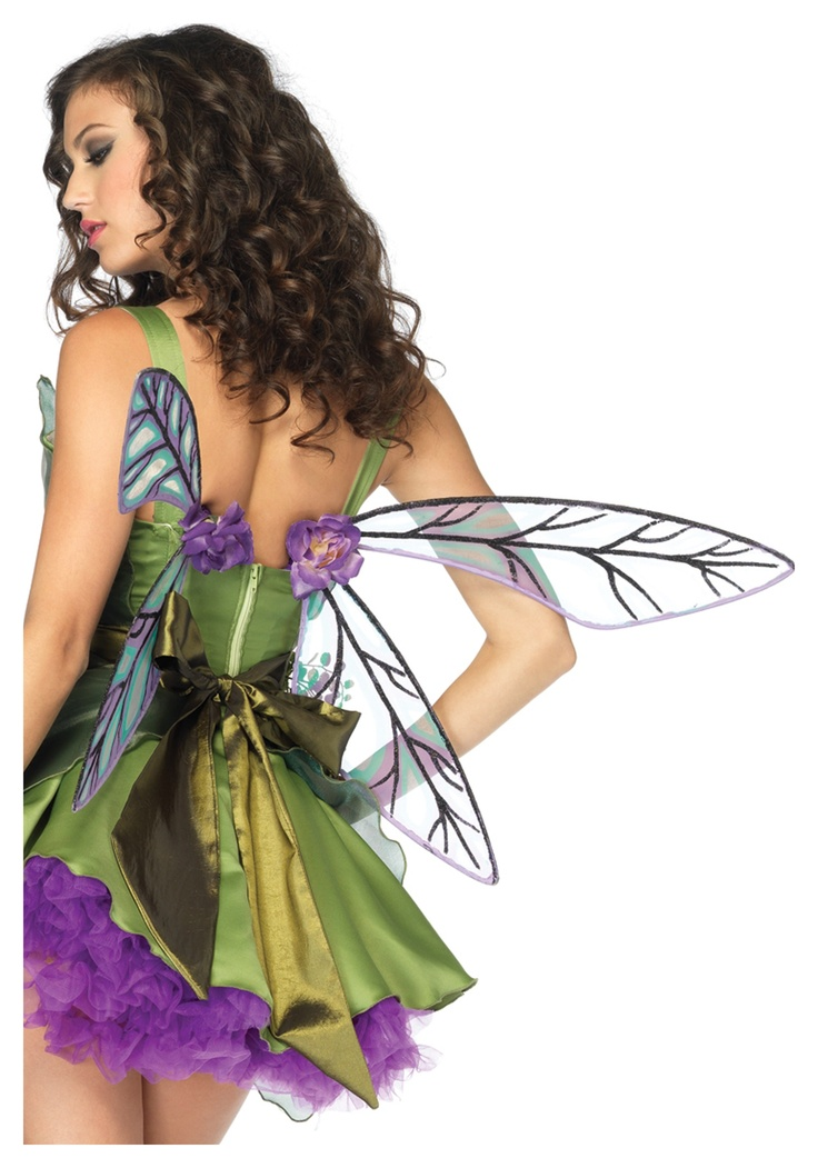 Top off the charming look of your sassy spriteu0027s costume with these delicate Strapless Woodland Fairy Wings.  sc 1 st  Pinterest & 187 best Halloween images on Pinterest   Costumes Fancy dress and ...
