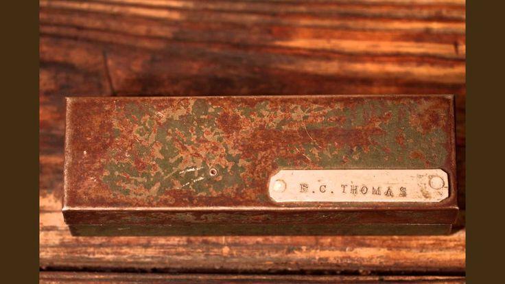 Vintage SK Tools Metal Socket Case/Box