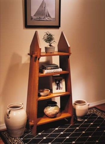 Knockdown Bookcase. I love having furniture I can move without help!