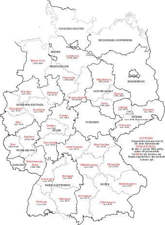 Organización territorial de Alemania - Wikipedia, la enciclopedia libre