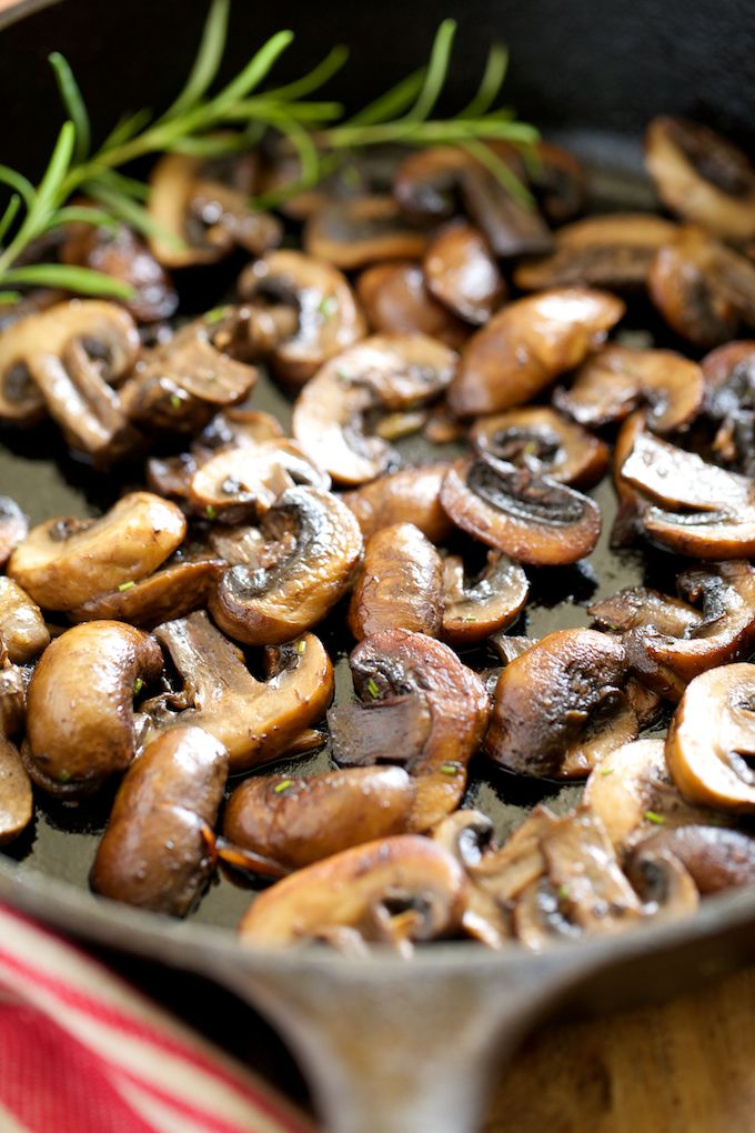 Garlic Butter Sauteed Mushrooms | Get Inspired Everyday!