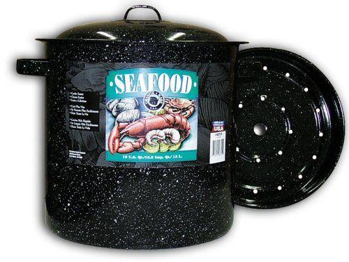 Graniteware Seafood/Tamale Steamer with Insert, 15.5 Quart, Black Granite Ware http://www.amazon.com/dp/B000ATXMEW/ref=cm_sw_r_pi_dp_mZsRvb14FHZ2S