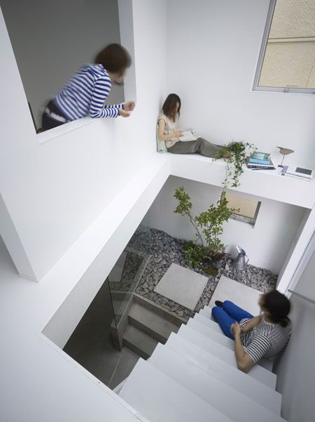 1000 ideas about outside stairs on pinterest stairs - Casas japonesas modernas ...