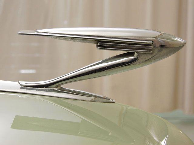 1937 LaSalle hood ornament. Talk about some streamline modern design.