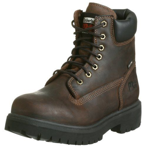 "Timberland PRO Men's 38020 Direct Attach 6"" Soft Toe Boot Timberland. $82.55. Rubber sole. Molded nylon shank. Anti-microbial lining. leather. Premium waterproof leather with seam-sealed direct-inject construction. Lightweight PVC midsole. 200g Thinsulate insulation"