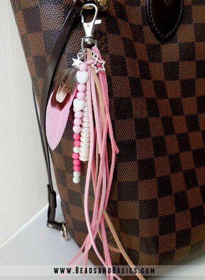 Roze Sleutelhanger - Beads & Basics | Online Kralen Kopen