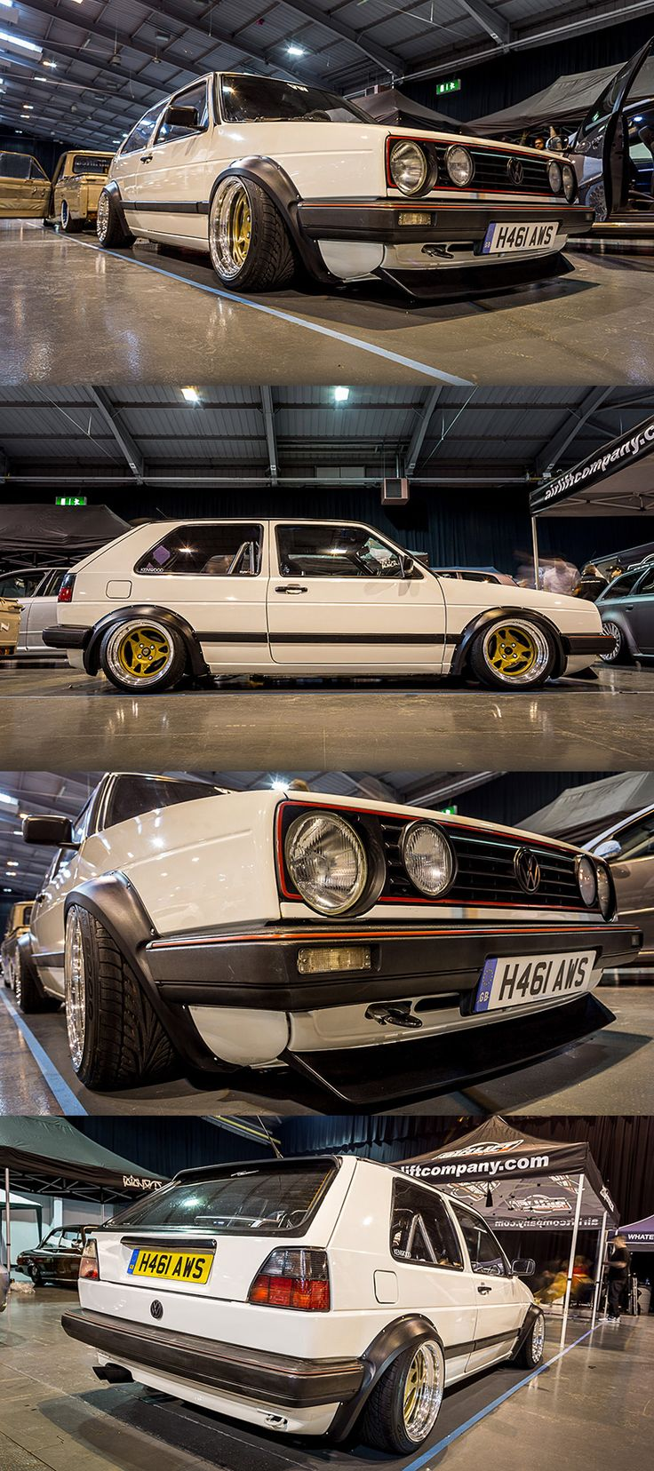 VW golf mk2 Euro MAgic Voomerang widebody rotiform
