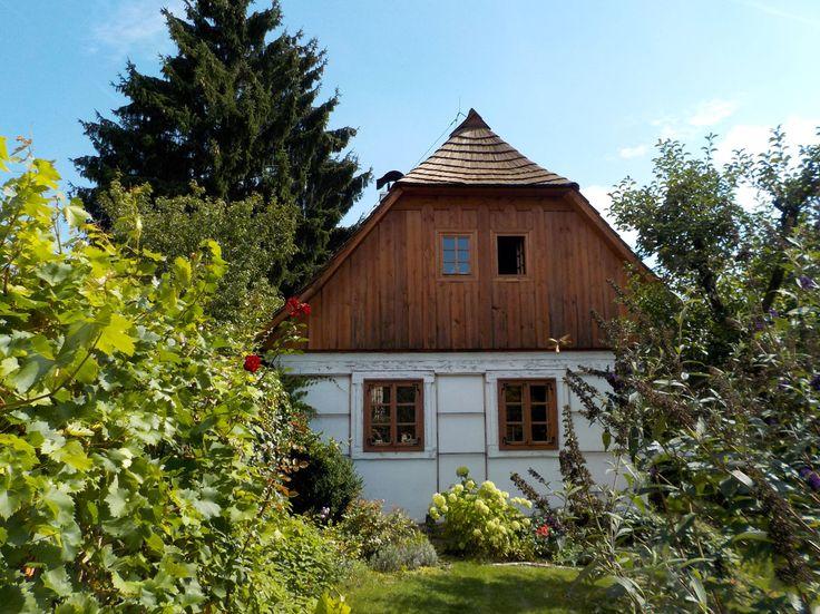 The house No.18 in Louňovice pod Blaníkem (Central Bohemia), Czechia