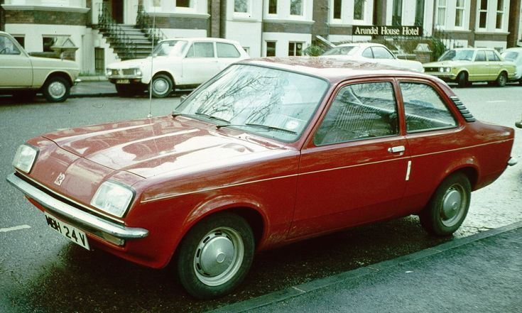 Vauxhall Chevette Saloon.