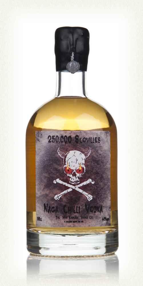 250,000 Scovilles - Naga Chilli Vodka 50cl  sounds nuts....:-)