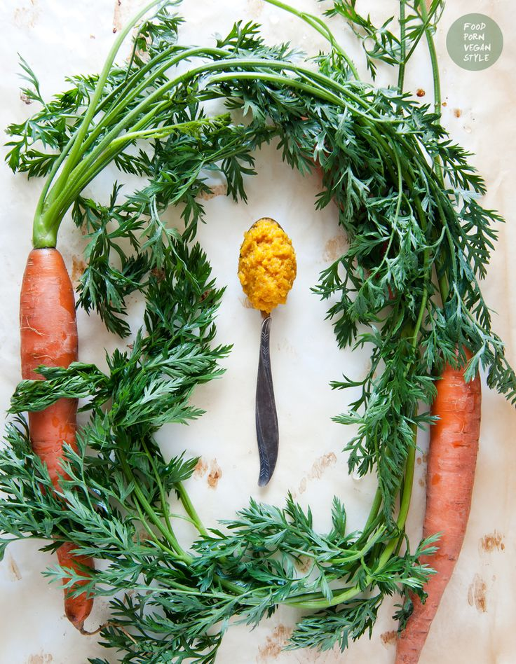 Chutney z marchewki z kuminem, imbirem i kurkumą / Carrot chutney with cumin, ginger and turmeric